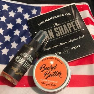 Wild Willies Beard Butter, Elixir, Man Shaper